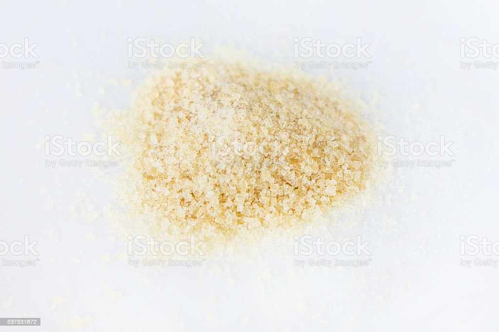 Gelatine Powder stock photo