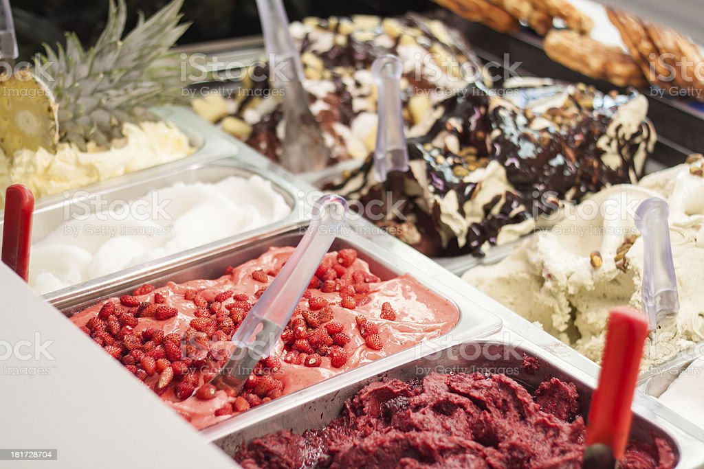Gelato ice-cream royalty-free stock photo