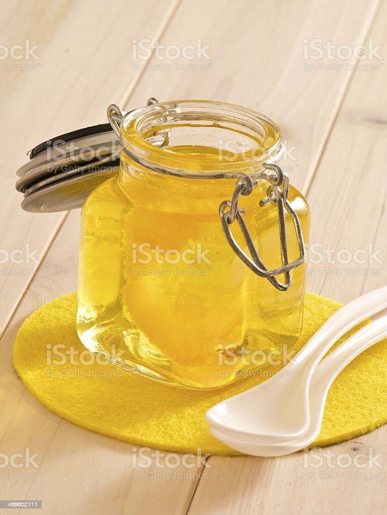 Gelbe G?tterspeise stock photo