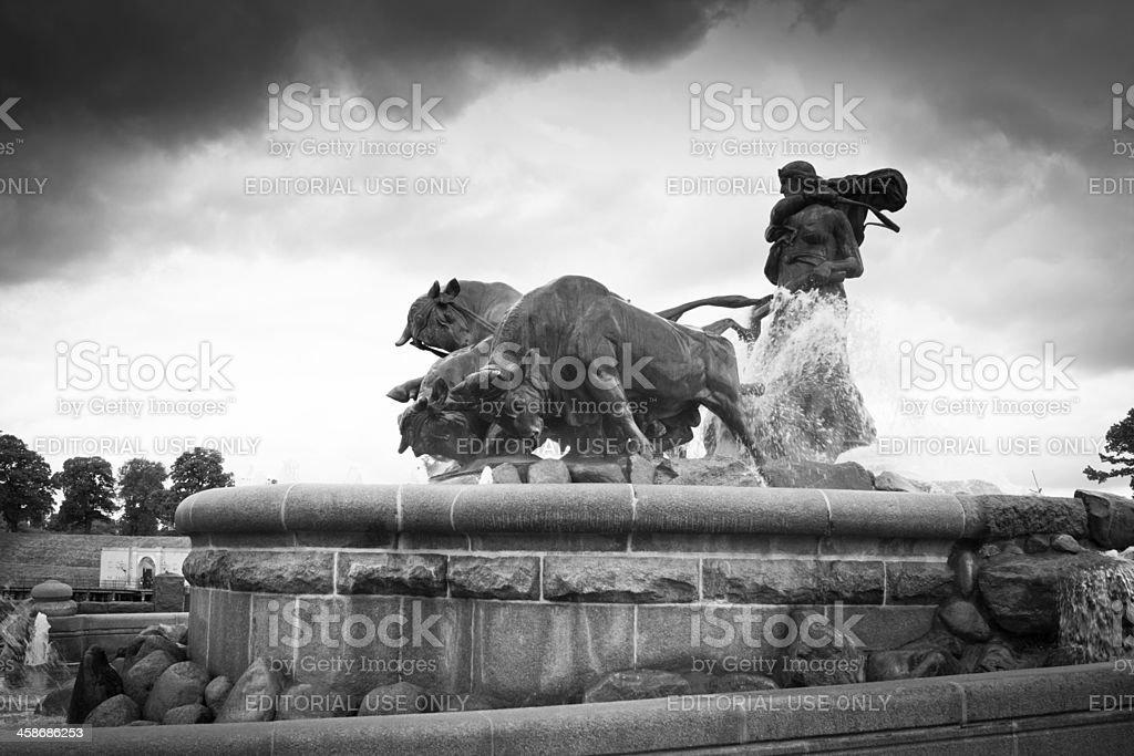 Gelfion Fountain stock photo