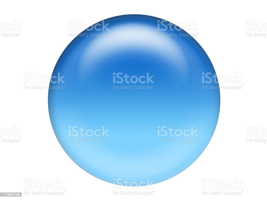 gell sphere stock photo