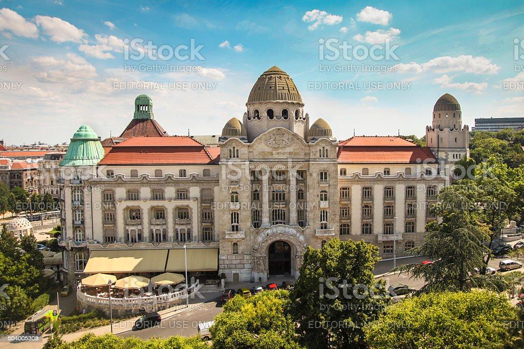 Gellert Hotel and Spa Budapest stock photo