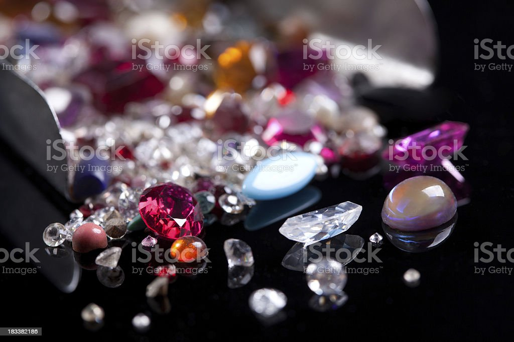 Gem stones royalty-free stock photo