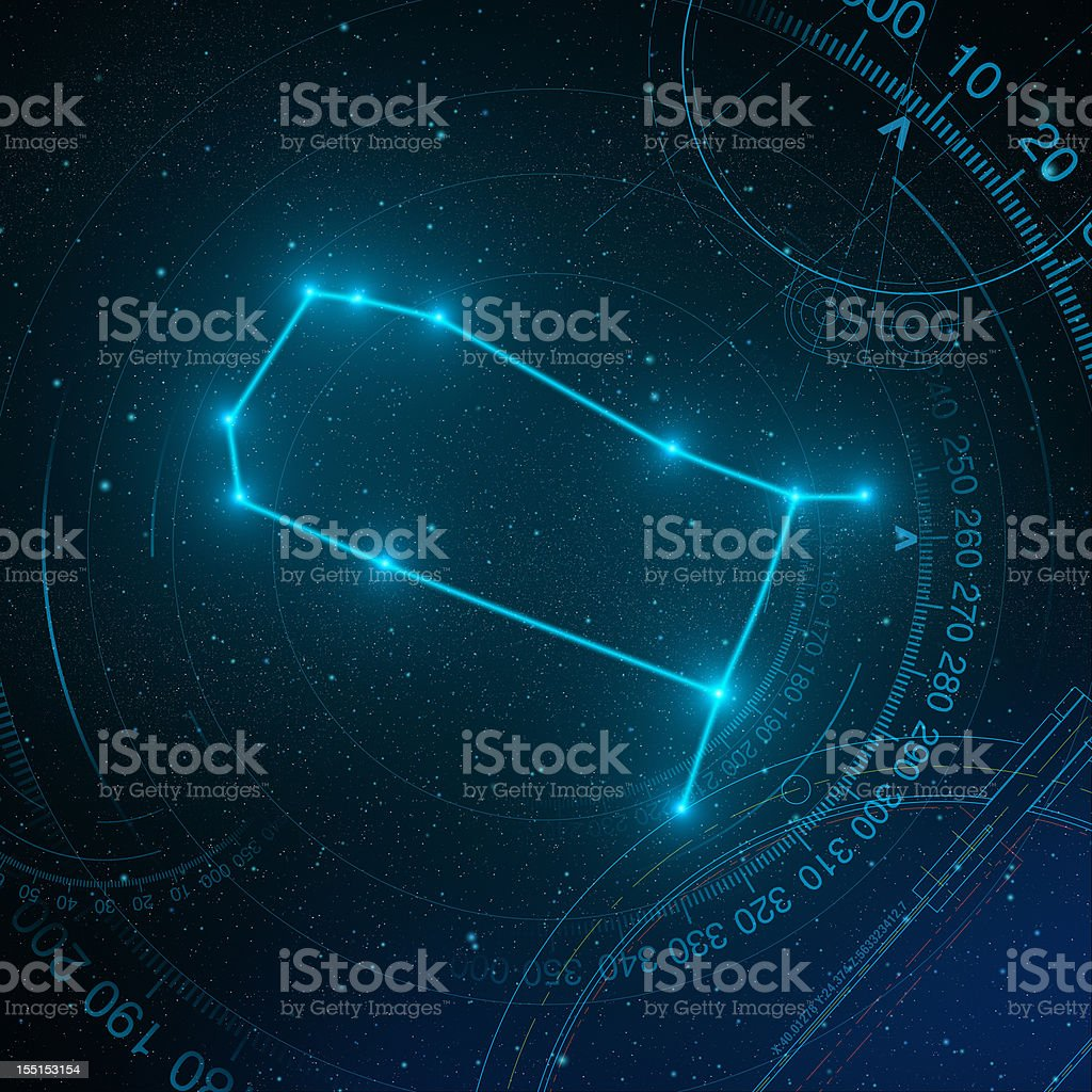 Gemini royalty-free stock photo