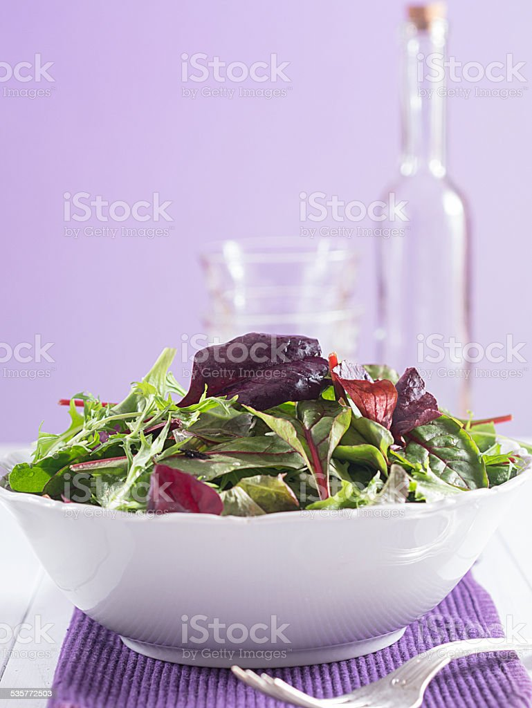 Gemischter Salat stock photo