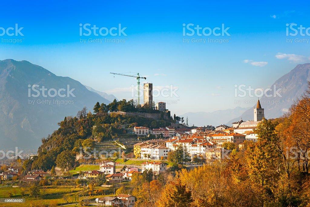 Gemona del Friuli, Udine, Italy stock photo