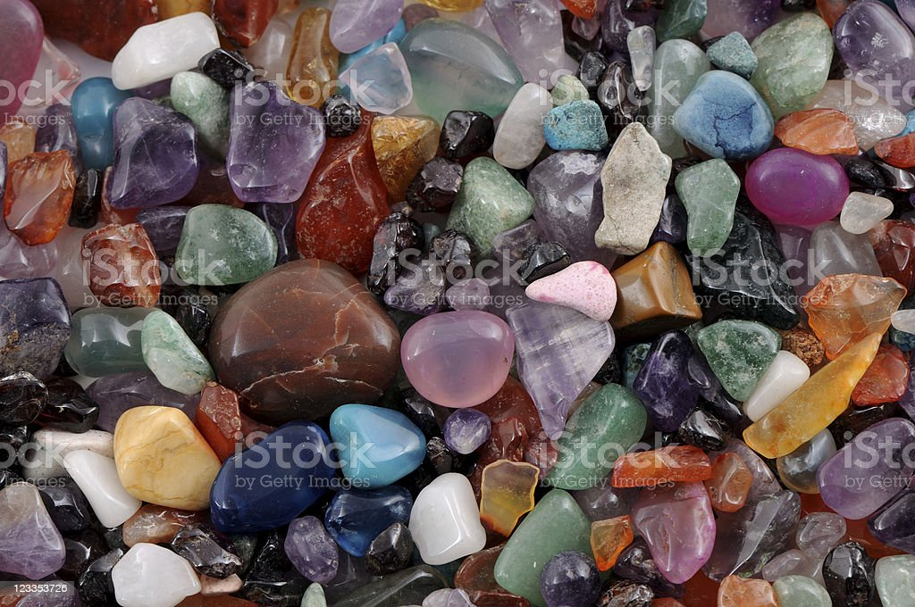 gems and precious stone stock photo