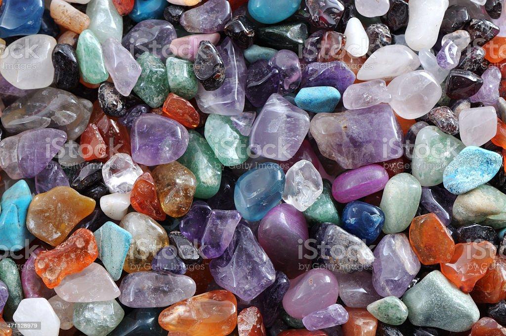 gems and precious stones royalty-free stock photo