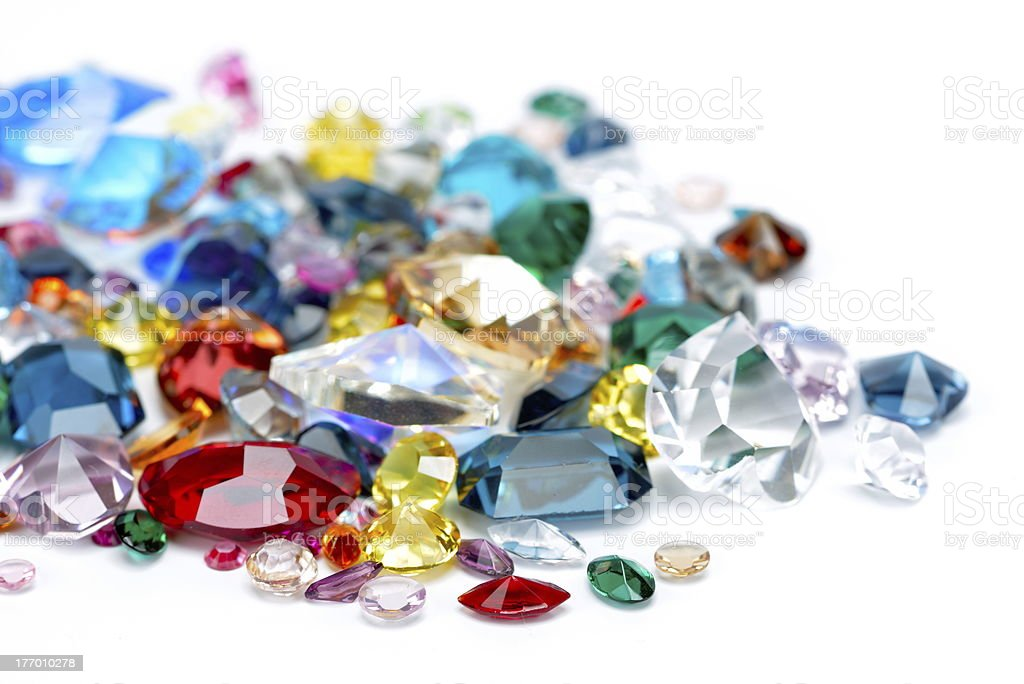 gems royalty-free stock photo