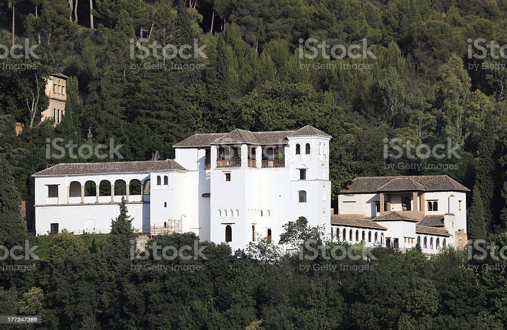 'Genaralife Gardens, Alhambra' stock photo