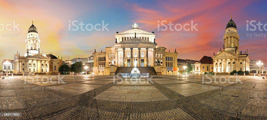 Gendarmenmarkt Berlin landmark in Berlin, Germany. stock photo