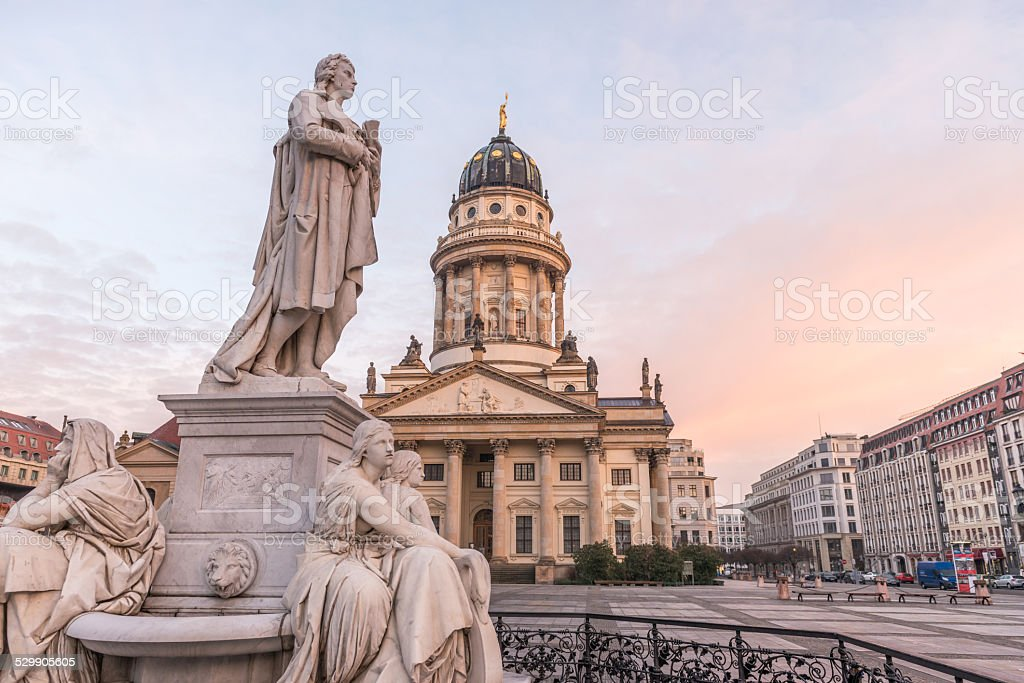 Gendarmenmarkt Berlin stock photo