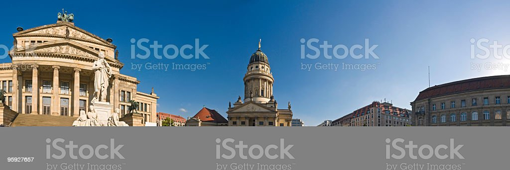 Gendarmenmarkt Berlin stock photo