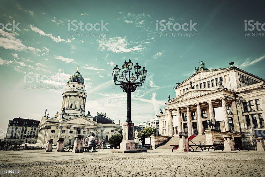 Gendarmenmarkt in Berlin, Germany royalty-free stock photo