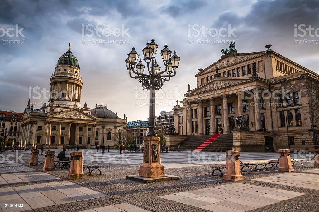 Gendarmenmarkt in Berlin, Germany stock photo