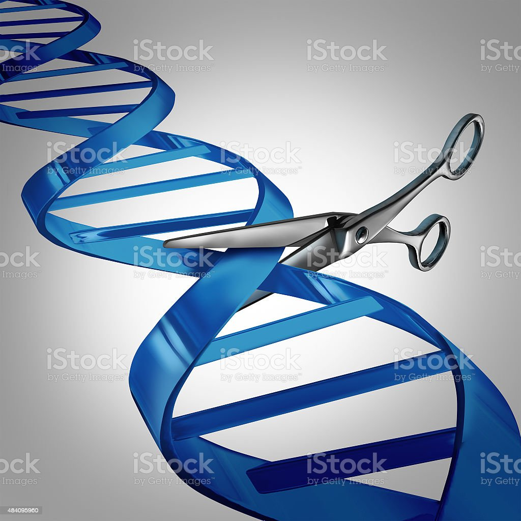 Gene Editing stock photo