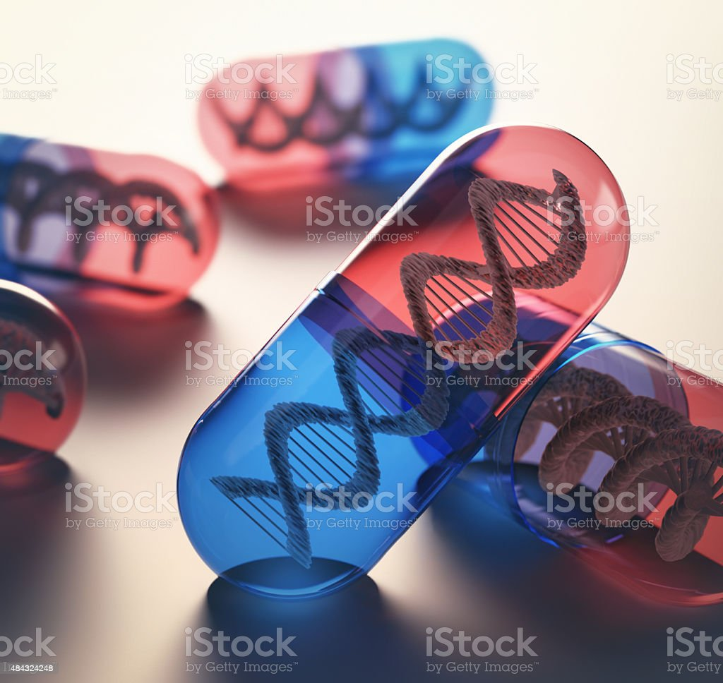 Gene Therapy stock photo