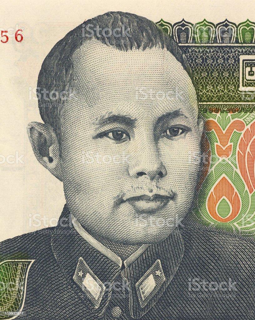 General Aung San stock photo