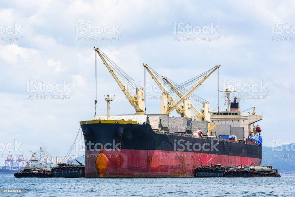 General Cargo ship in the ocean
