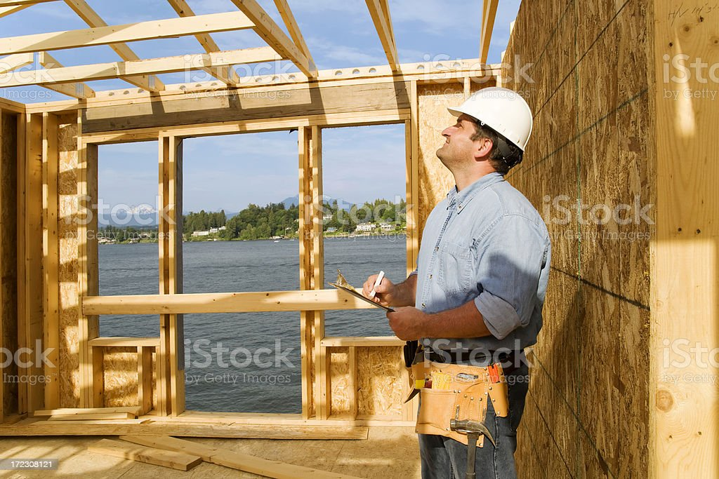 General Contractor royalty-free stock photo