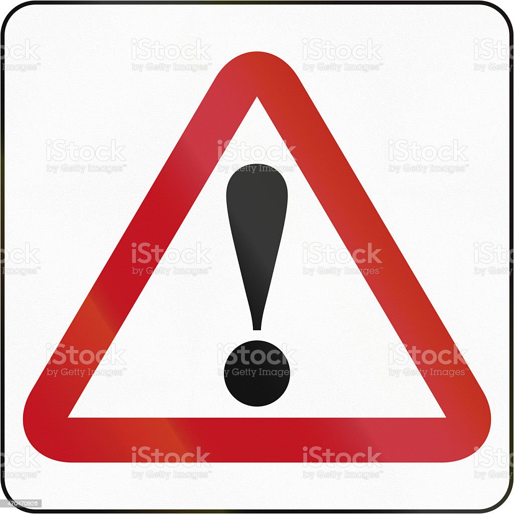 General Dangers In Brunei stock photo