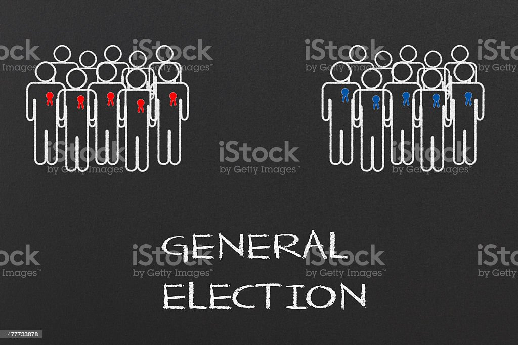 General Election stock photo