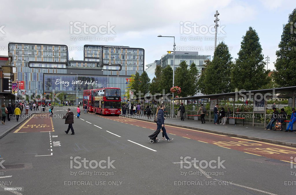General Gordon square in Woolwich district of London stock photo
