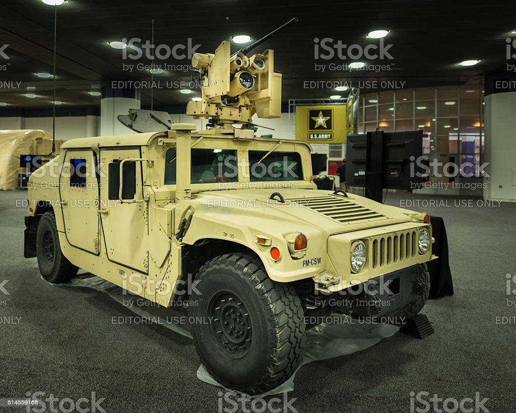 2016: AM General HMMWV (Humvee) stock photo