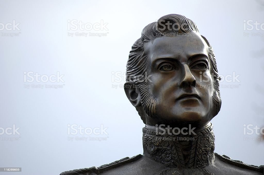 General Jose de San Martin royalty-free stock photo