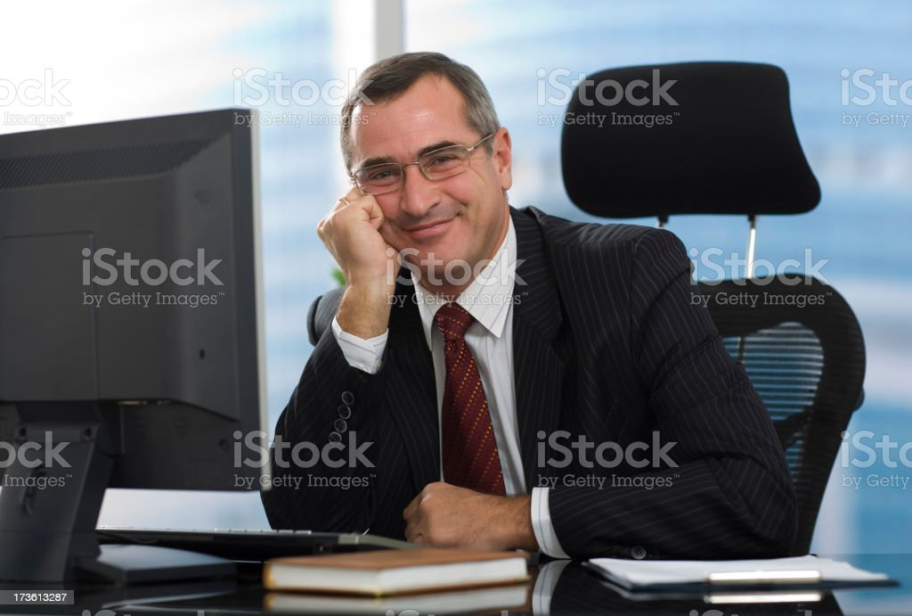 General manager royalty-free stock photo