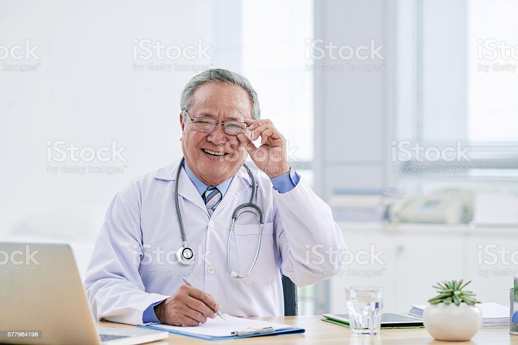 General practitioner stock photo