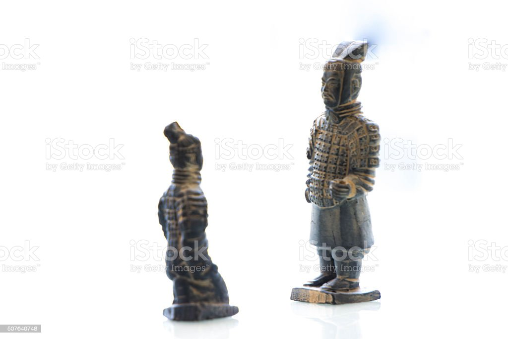 general sculpture stock photo