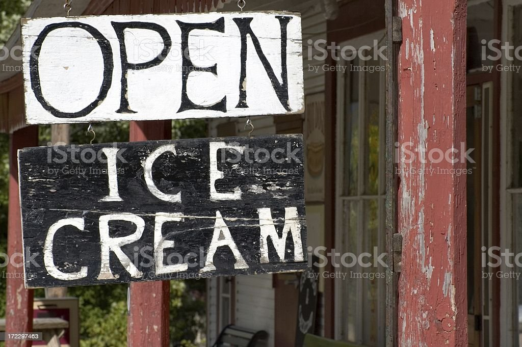 General Store Sign royalty-free stock photo