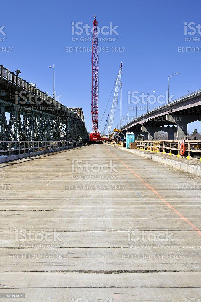 General Sullivan Bridge Expansion stock photo
