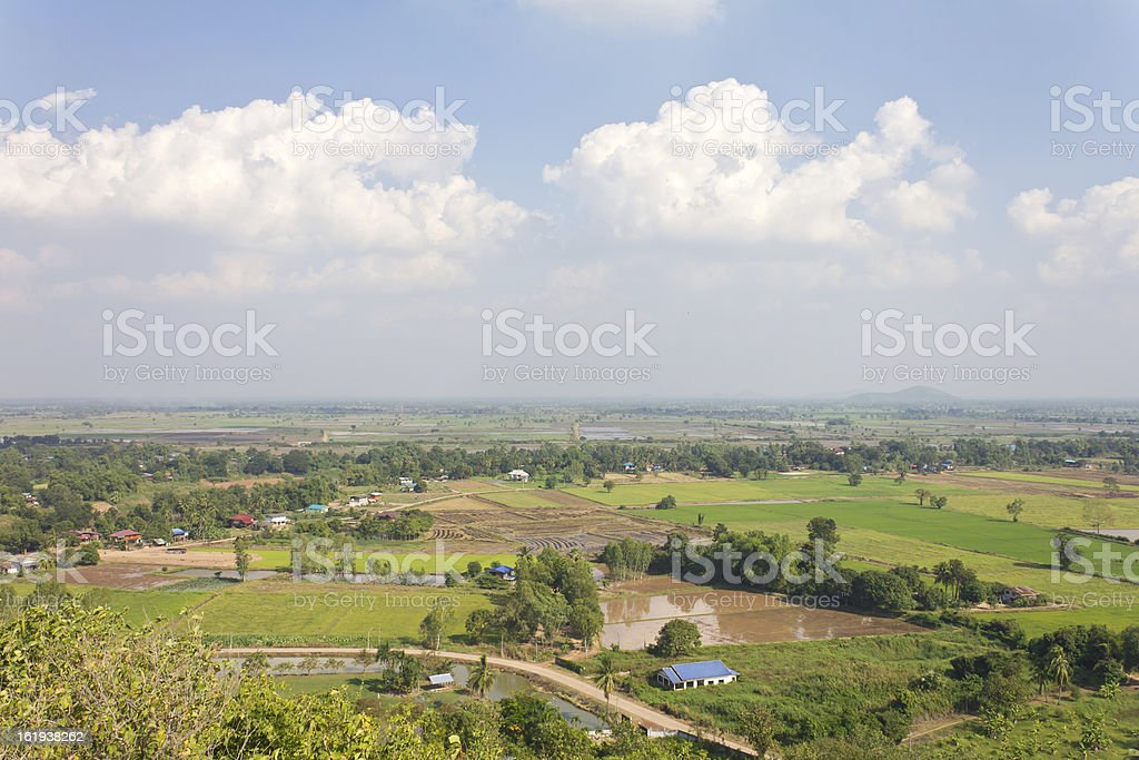 General view of farming in rural. royalty-free stock photo