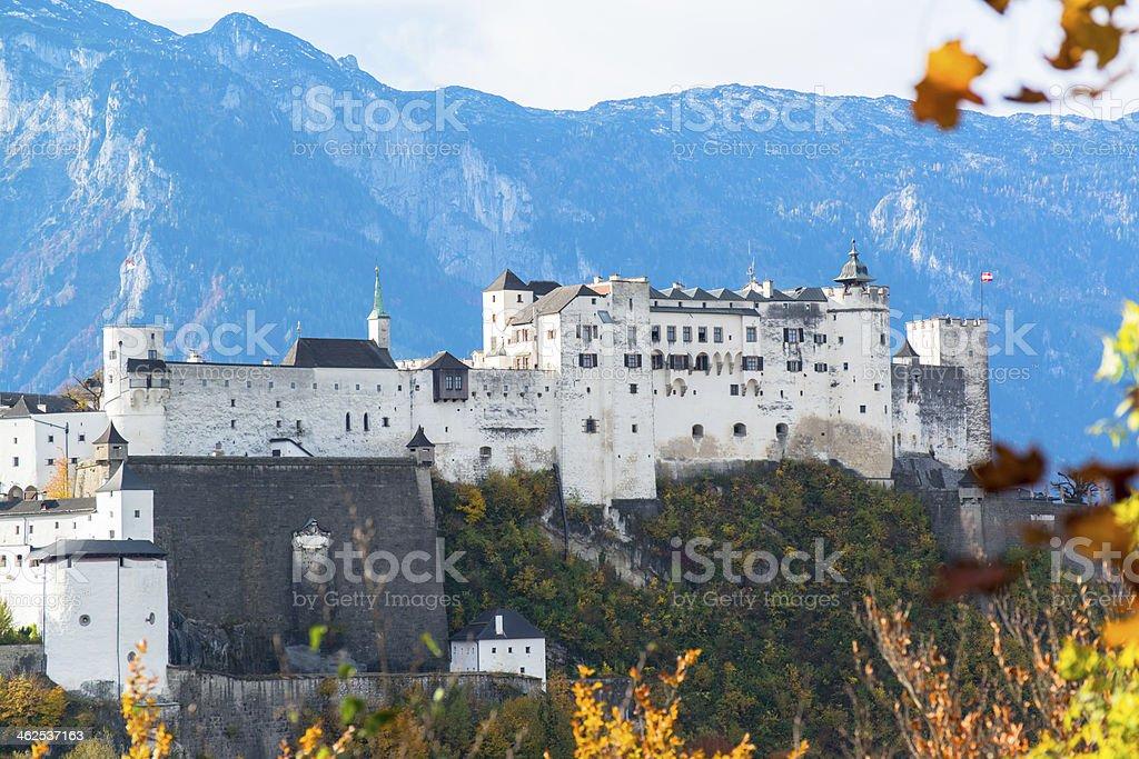 General view of the historical center Salzburg, Austria stock photo