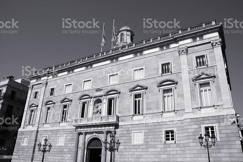 Generalitat de Catalunya stock photo
