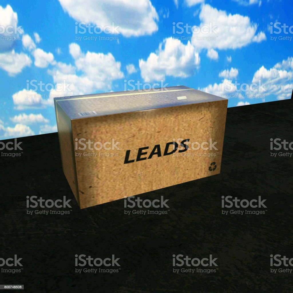 Generate Leads stock photo