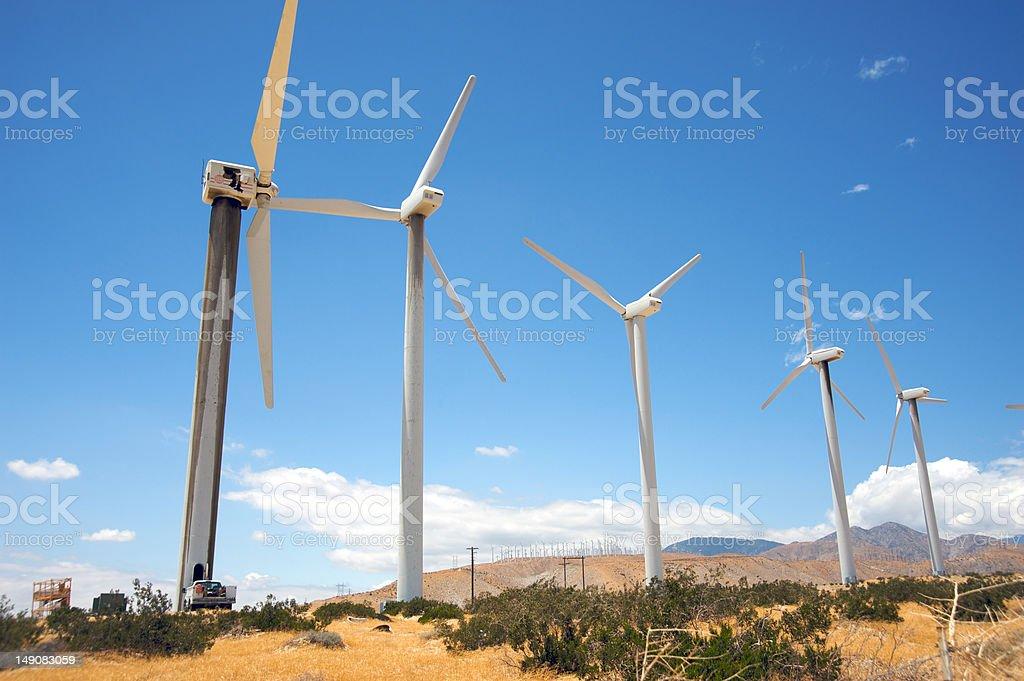 Generating alternative energy royalty-free stock photo