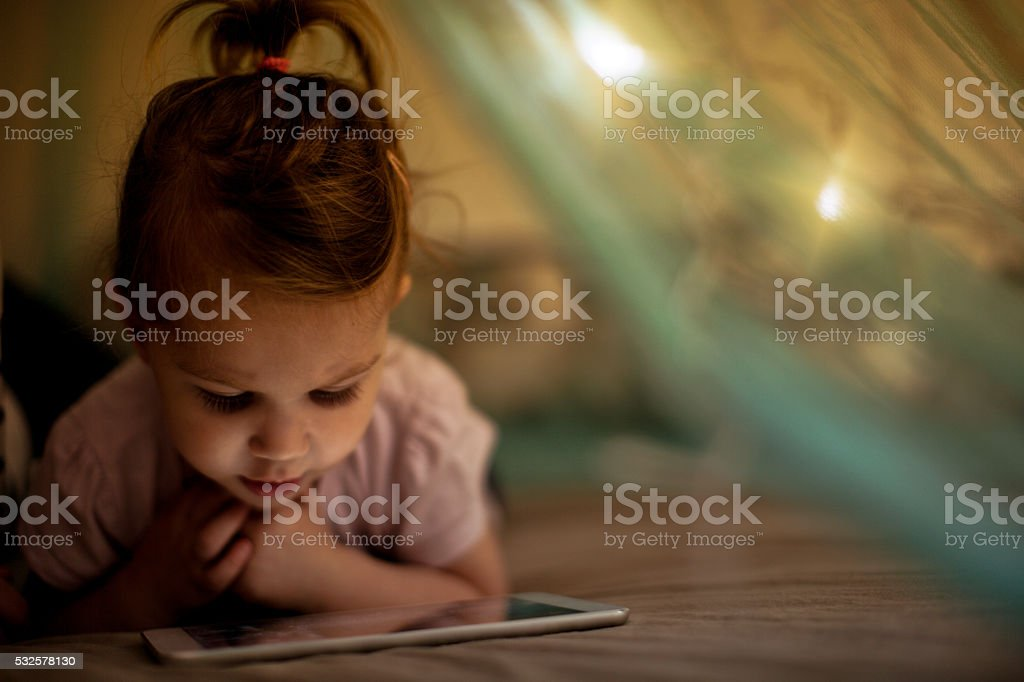 Generation Alpha stock photo