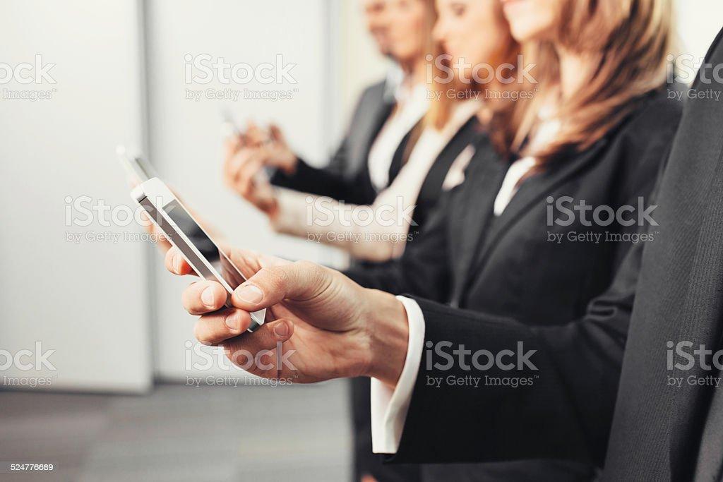 Generation Y stock photo