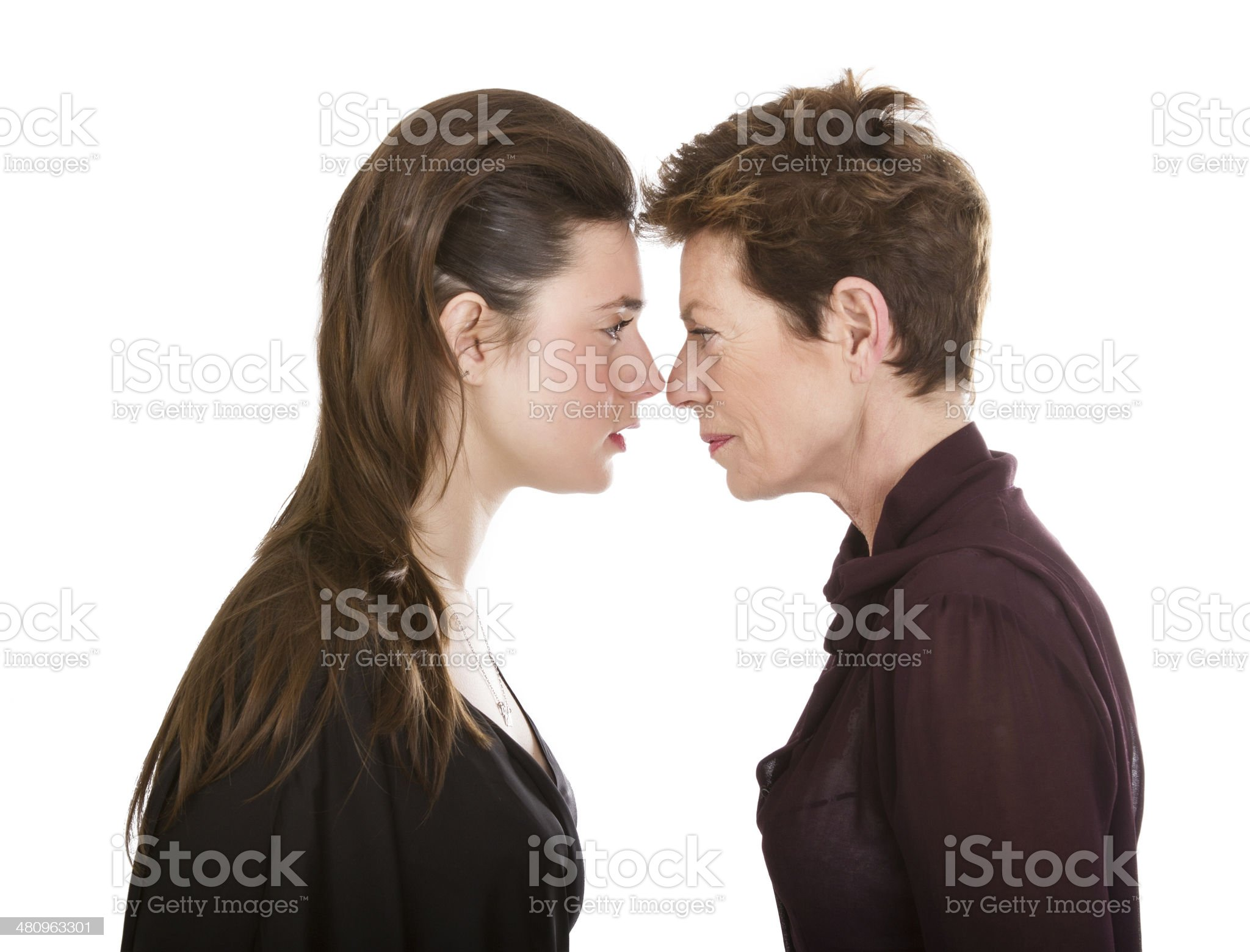 generational difference metaphor royalty-free stock photo