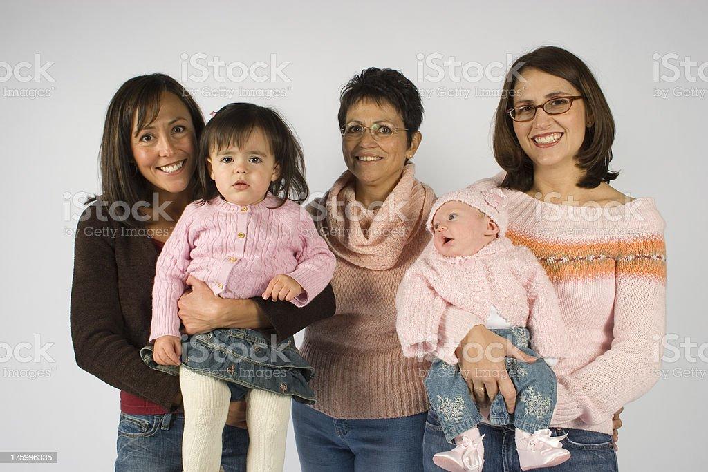 Generational royalty-free stock photo