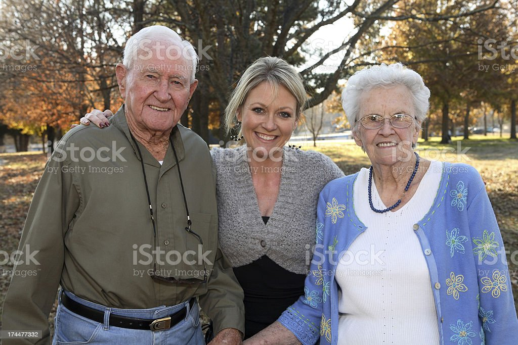Generations. stock photo