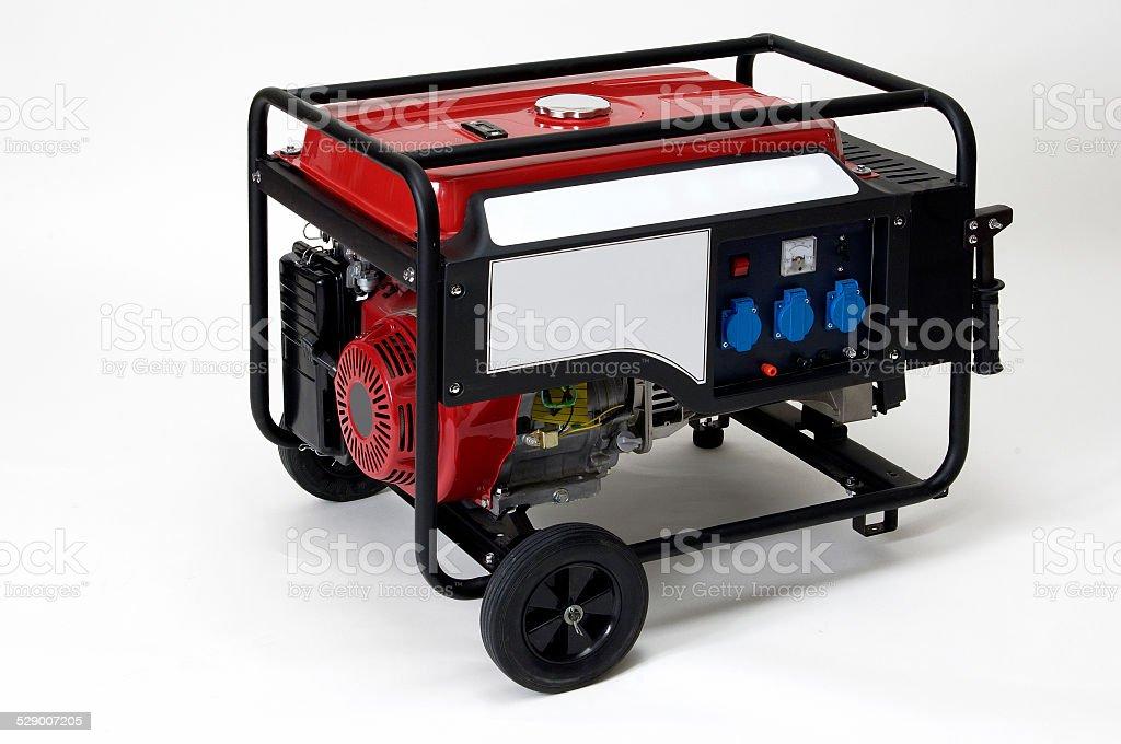 generator, gasoline stock photo