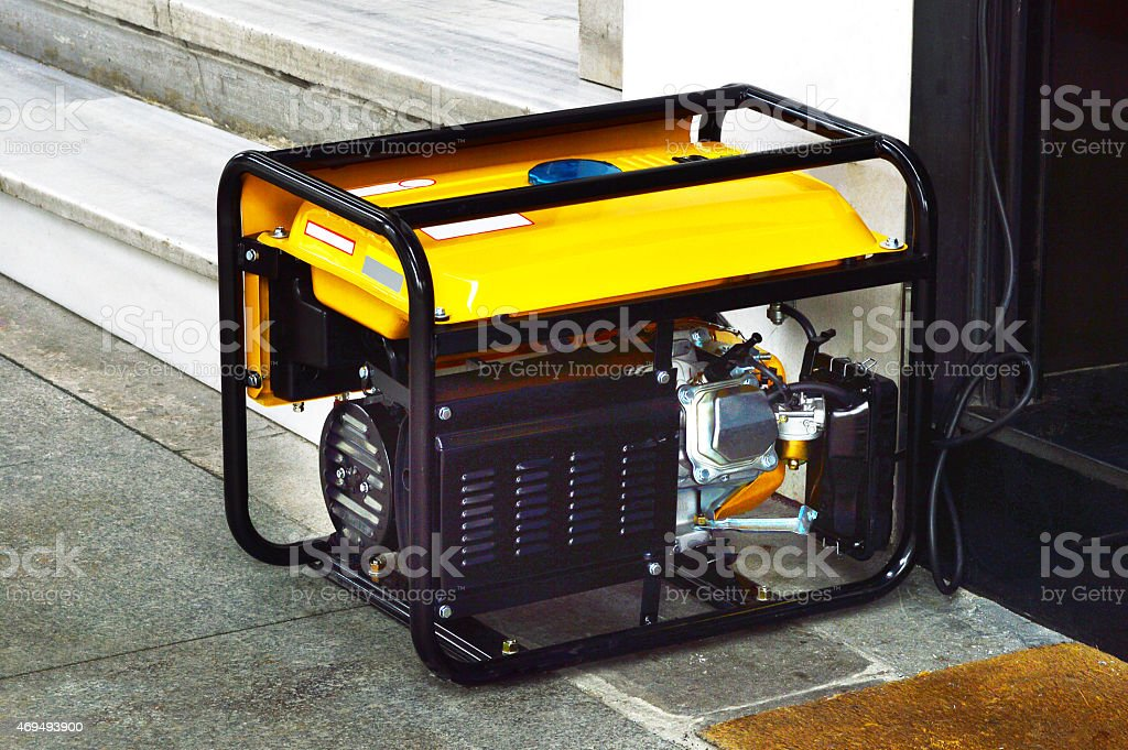 Generator (Click for more) stock photo