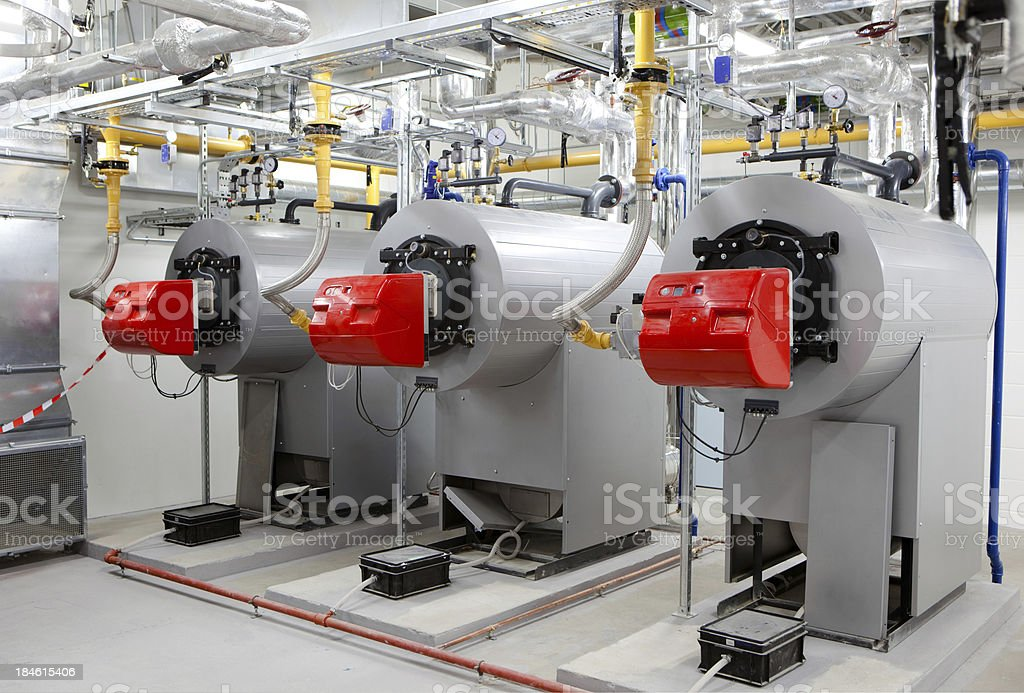 Generators stock photo