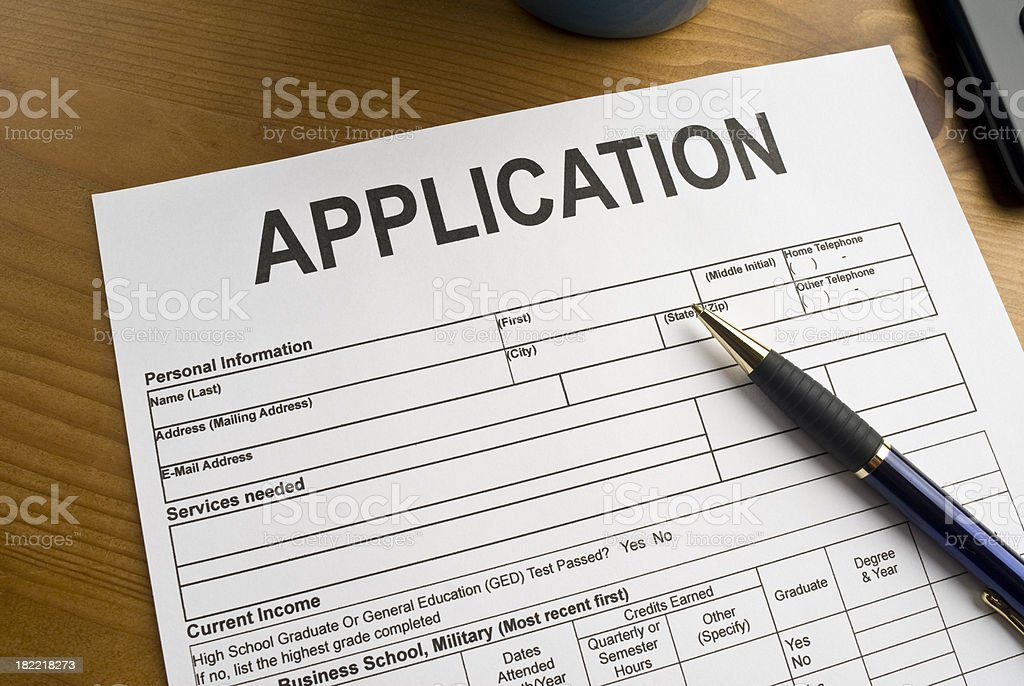 Generic Application royalty-free stock photo
