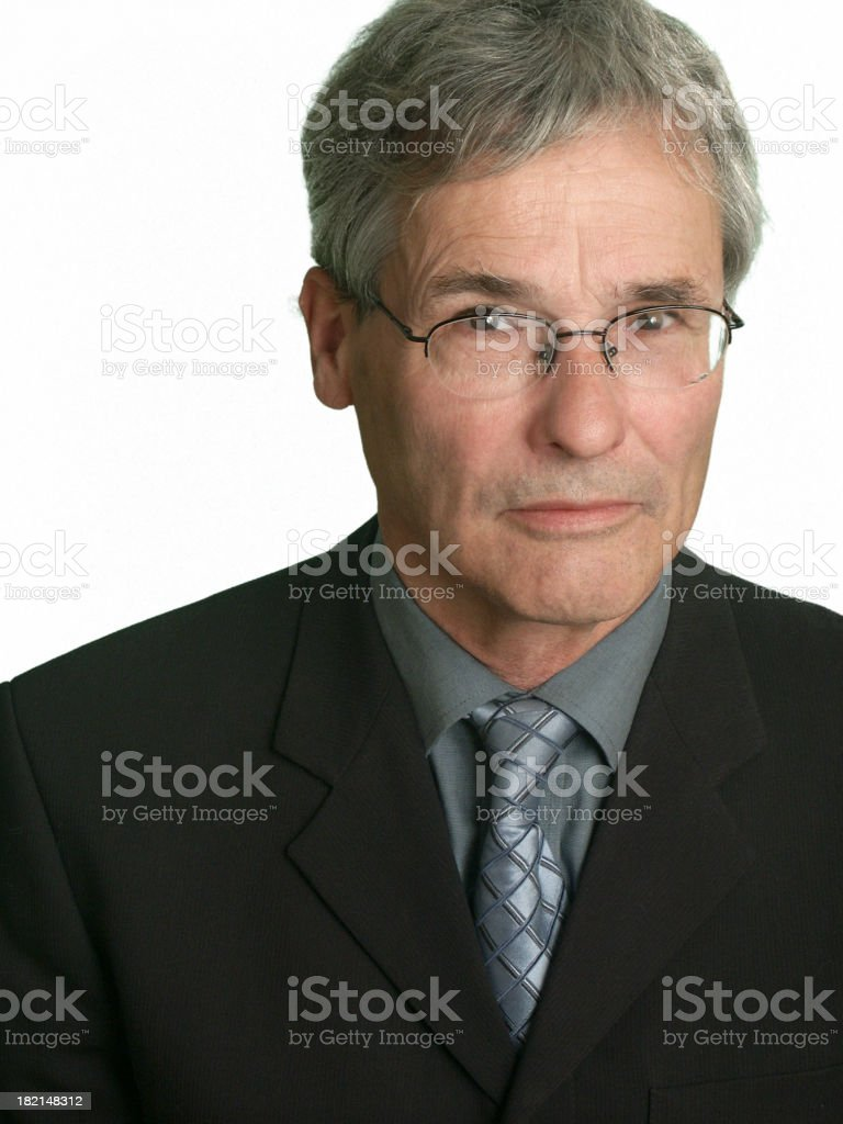 Generic Businessman royalty-free stock photo