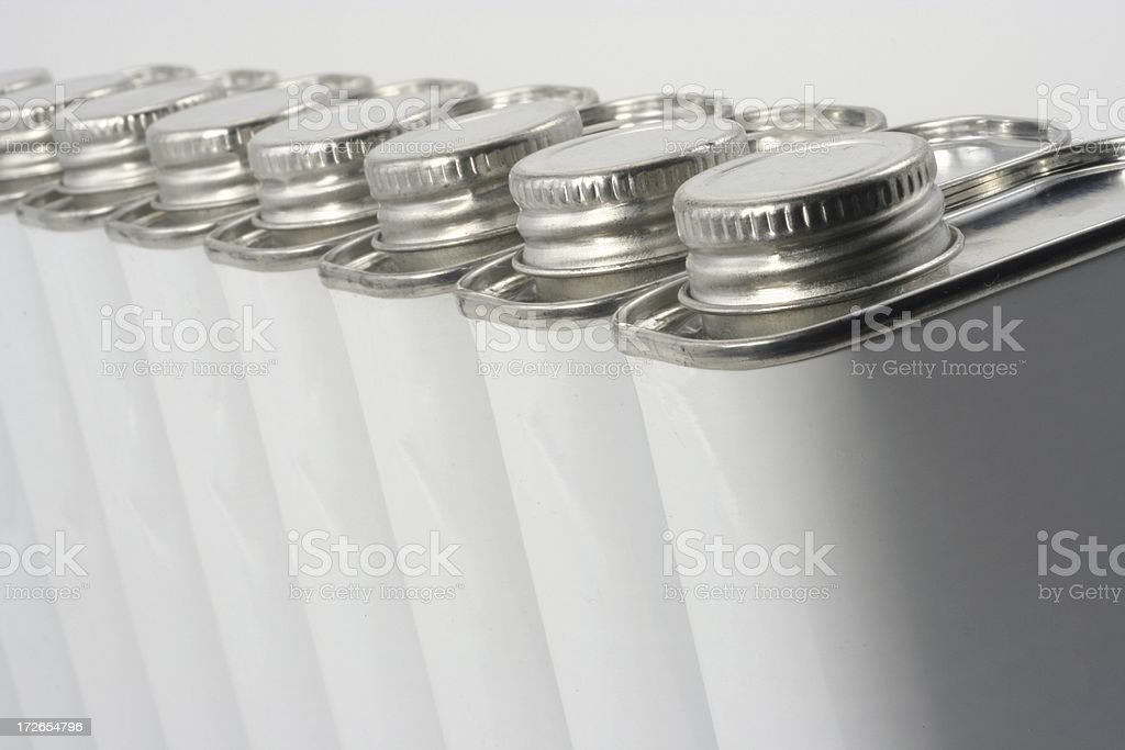Generic Cans royalty-free stock photo
